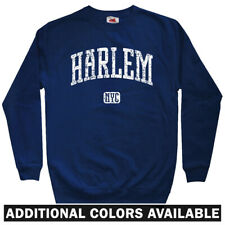 Harlem NYC Men's Sweatshirt - Crewneck S-3X - Gift New York City 212 125th St.