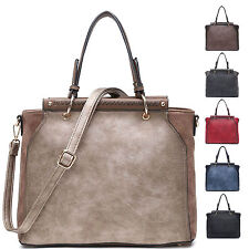 Ladies Stylish Faux Leather Handbag Evening Shoulder Bag Grab Bag MN002-2