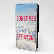 Saying Quote Flip Case Cover For Samsung Galaxy - A1164