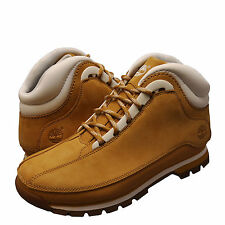 Men's Shoes Timberland Euro Dub Leather Boots 6004B Wheat White *New*