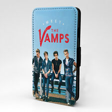 The Vamps Flip Case Cover For Samsung Galaxy - T1343