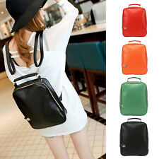 Hot Women Faux Leather Backpack Handbag School Shoulder Bag Satchel Rucksack LIA