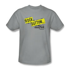 Rock Bottom That's A Fishing Term Charlie Funny Humor Adult T-Shirt - (2X-Large)