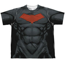 BATMAN RED HOOD STYLE 2 Kids Front Print Tee Shirt SM-XL BOYS SZ 6-20