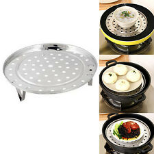 Steamer Rack Insert Stock Pot Steaming Tray Stand Cookware Tool Precise