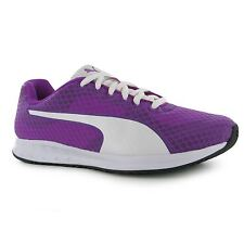 Puma Burst Running Shoes Womens Purple/White Run Fitness Trainers Sneakers
