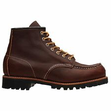 Red Wing 08146 Roughneck 6 Inch Dark Brown Mens Boots