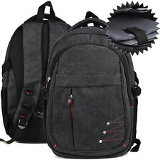 15 15.6 inch Laptop Gray Tech Backpack with Isolated Padded Compartment