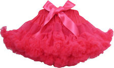 Girls Skirt Dress Multi-layers Tutu Dance Pageant Bow Kids Clothes Size 2-10