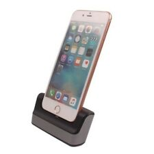 """For iPhone 7 4.7"""" 5.5"""" Plus Desktop Sync Date Cradle Charger Dock Charger"""