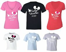 Family matching vacation t shirts Ears Hands Cruise Trip 2016 t-shirts