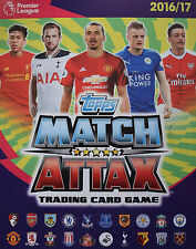 TOPPS MATCH ATTAX 2016/2017 - CHOOSE YOUR STAR PLAYER, CLUB BADGE & BASE CARDS