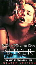 SLIVER Sharon Stone William Baldwin (VHS, 1993, Unrated Version)  NEW SEALED