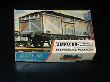 MAQUETTE - TRAIN - MINERAL WAGON - 1/76 - AIRFIX - 00 -  MODEL KIT -