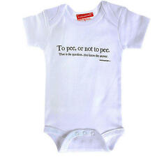 Silly Souls To pee or not to pee... Bodysuit