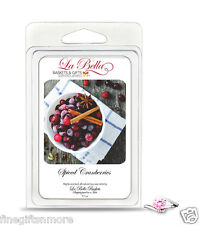 Spiced Cranberries Tart Melts w/ Free Jewelry 5.5oz Soy Fragrance Scent 100 hour