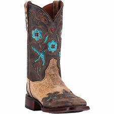 Dan Post Cowboy Certified Womens Tan CC Bluebird Leather Boots 11in