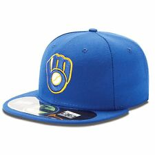 Milwaukee Brewers 59Fifty Authentic Fitted Performance Alternate MLB Baseball