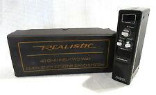 Realistic 40-Channel Two Way Emergency Citizens Band System CB Radio TRC-412