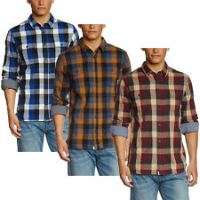 Vans Off The Wall Men's Alameda Flannel Plaid Long Sleeve Button Shirt
