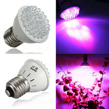 Promotions E27 1.9W 38 LED Red Blue Hydroponic Plant Grow Light Lamp Bulb