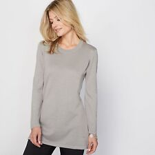 La Redoute Womens Tunic Jumper/Sweater, 50% Merino Wool