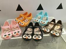 Summer Cartoon Kids Sandal Girl Owl Jelly Soft Shoes New Toddler Size 4 - 9.5