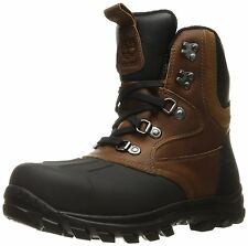 Men's Timberland Chillberg Mid Shell-Toe Waterproof Boots Brown A185T