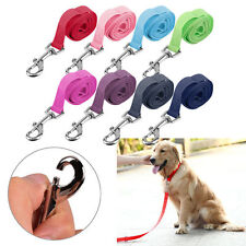120*2cm Nylon Lead Leash Recall Pet Puppy Long Training Obedience GK