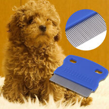 Puppy Dog/Cat Hair Grooming Trimmer Flea Comb Gilling Brush Slicker Tool Lot