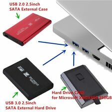 USB 3.0/2.0 2.5inch SATA External Hard Drive Mobile Disk HD Case Box Lot