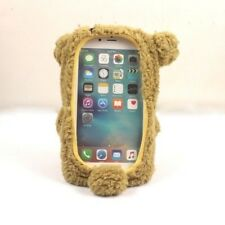 "Hot 3D Cute Doll Toy Cool Plush Teddy Bear Cover Case For Iphone 7 4.7"" 5.5 Plus"