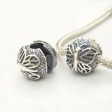 Authentic S925 Sterling Silver LACEWINGBUTTERFLYClipCharm Bead