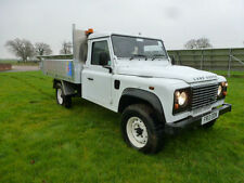 LAND ROVER DEFENDER 130 2.2 TDCi PUMA CHASSIS CAB-TIPPER/DROP SIDE CHERRY PICKER