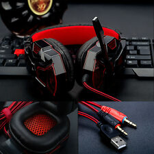 Hot LSNB Stereo Gaming Headset Headband Headphone with Mic For PC Computer Phone