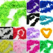 Multi-colors Feather Boas Hen Night Burlesque Fancy Party Wedding Dress Dressup