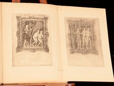 1911 Sotheby's Catalogue of the Huth Collection Printed Books Illustrated
