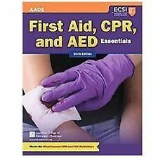 First Aid, CPR, and AED Essentials by American College of Emergency Physicians