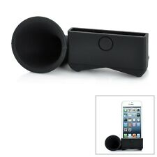For Apple iPhone 5 Portable Silicone Horn Stand Audio Dock Amplifier Speaker LOT
