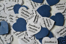 NEW for 2016 PERSONALISED TABLE CONFETTI includes YOUR NAMES & DATE