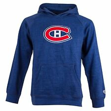 Montreal Canadiens Youth Powell Applique Logo Hoodie