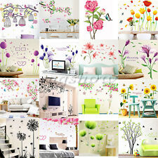 Family Flower Tree DIY Removable Art Vinyl Wall Stickers Room Mural Home Decor