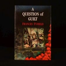 1988 A Question of Guilt Frances Fyfield Signed First Edition