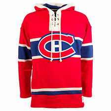 Montreal Canadiens Heavyweight Jersey Lacer Hoodie