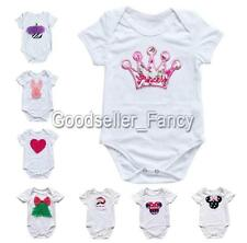 Baby Girls Infant Romper Jumpsuit Bodysuit Party Toddler Outfit Clothes 0-18M