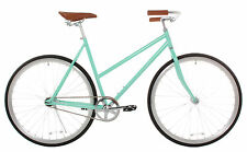 Women's Classic Urban Commuter Single Speed Bike Fixie Style City Road Bicycle