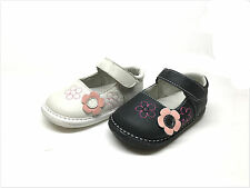 New Infant/Toddler Girls Genuine Leather Mary Jane Size   3 ~ 8