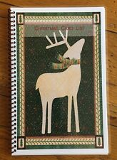 CHRISTMAS CARD ADDRESS BOOK Organizer A-Z Personalized Gift 8 yrs Deer 230