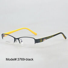 3769  metal half rim  unisex myopia eyewear eyeglasses prescription spectacles