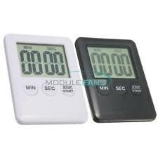 Large LCD Display Digital Kitchen Timer Count Down Up Clock Loud Alarm MF